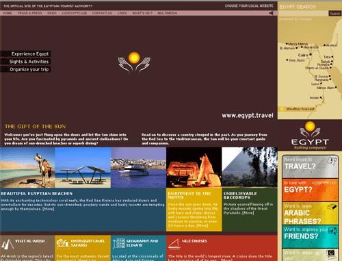 L'OT d'Egypte donne un coup de jeune à son site Internet