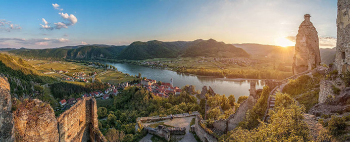 La région de la Wachau inscrite au patrimoine de l'UNESCO © Österreich-Werbung Andreas-Tischle