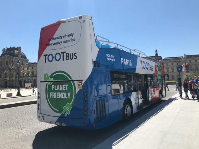 TootBus (ex Open Tour Paris) proposera une offre adpatée et verte à la clientèle française - Crédit photo : TootBus