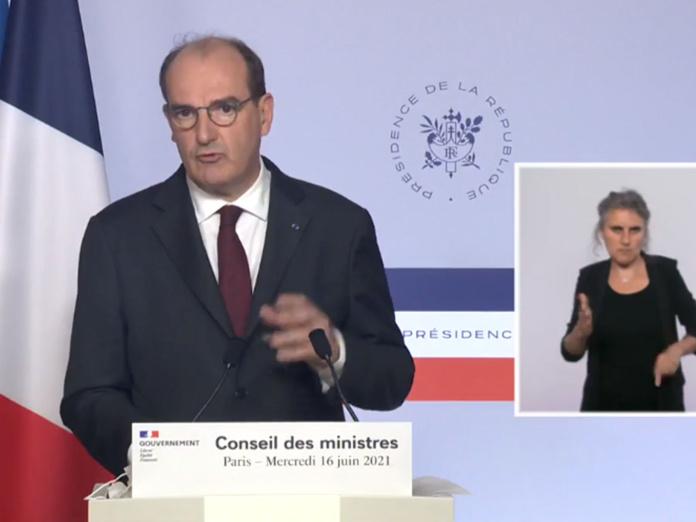 Jean Castex vient d'annoncer la fin du port du masque en extérieur dès le 17 juin 2021 et la fin du couvre-feu dès le 20 juin 2021 - Photo DR