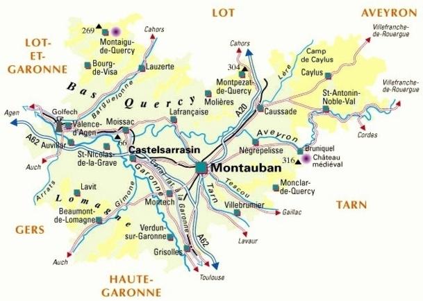 """Ainsi, Mademoiselle a signé le 20 juillet dernier un """"contrat de destination"""" avec le Tarn et Garonne (normal, elle est élue là-bas) afin de développer le """"tourisme d'itinérance""""."""