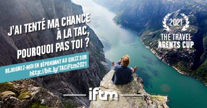 L'IFTM Top Resa ouvre les inscriptions pour la 8e édition de sa Travel Agents Cup. Les agents de voyages intéressés ont jusqu'au mardi 7 septembre 2021 pour s'inscrire - DR : IFTM