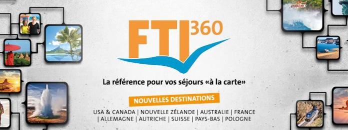 FTI360 propose désormais la réservation de voyages individuels sous forme de forfaits personnalisés - DR : FTI
