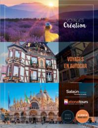 L'un des nouvelles brochures Salaün dédiée aux voyages en autocar - DR