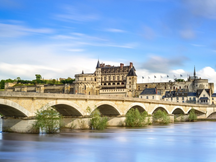 La forteresse des bords de Loire fut une résidence royale sous Charles VIII et François Ier. Lettrés et artistes y séjournèrent, à l'invitation de la Cour - DR : DepositPhotos.com, StevanZZ