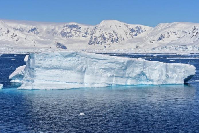 Baie de Chiriguano, îles de Shetland du Sud (Antarctique) en novembre 2019. Johan Ordonez / AFP