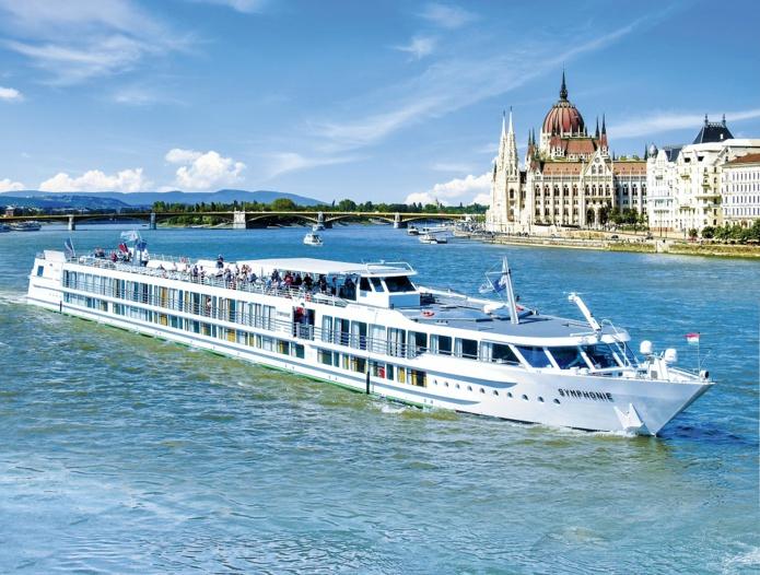 CroisiEurope reprend ses croisières sur le Danube dès le 29 juillet 2021. Ici, le MS Symphonie - DR : Peter Kosztolicz
