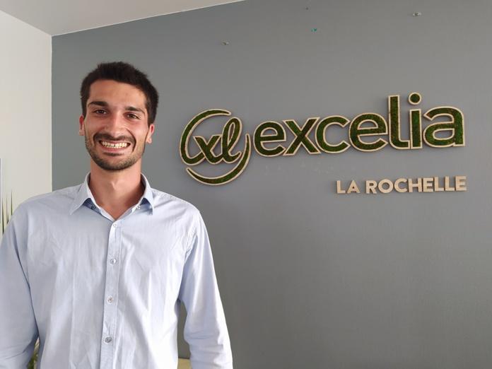 Théo Février, en 2e année de MSC International Event Management parcours anglais, à Excelia tourism & hospitality school, école spécialisée d'Excelia Group. - DR TourMaG.com