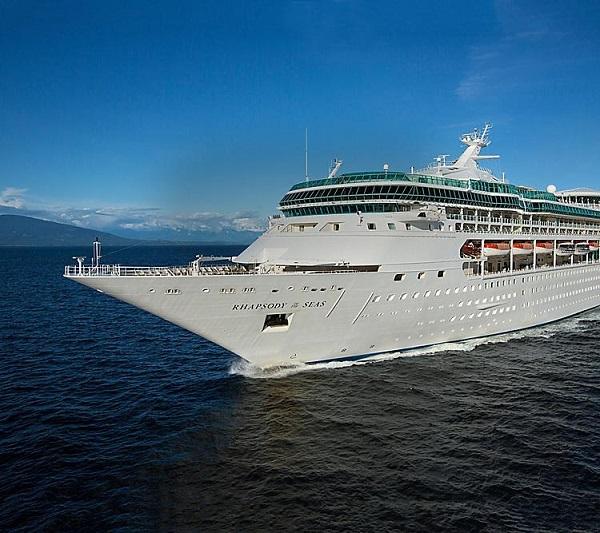 Le Rhapsody of the Seas partira de Rome le 23 mai 2022 - DR