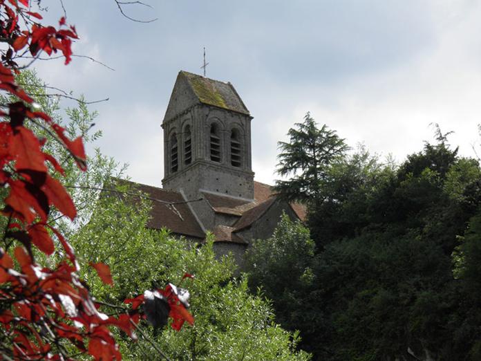 Eglise romane de Saint Céneri le Gérei © D.Eudier