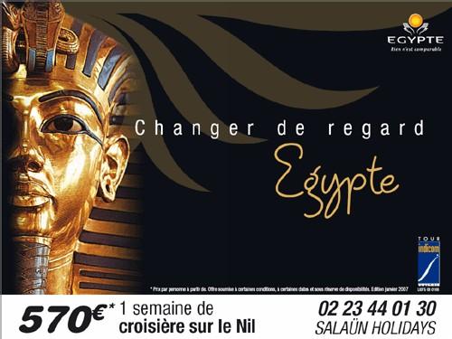 Egypte : Tour Indicom Voyages lance une campagne d'affichages