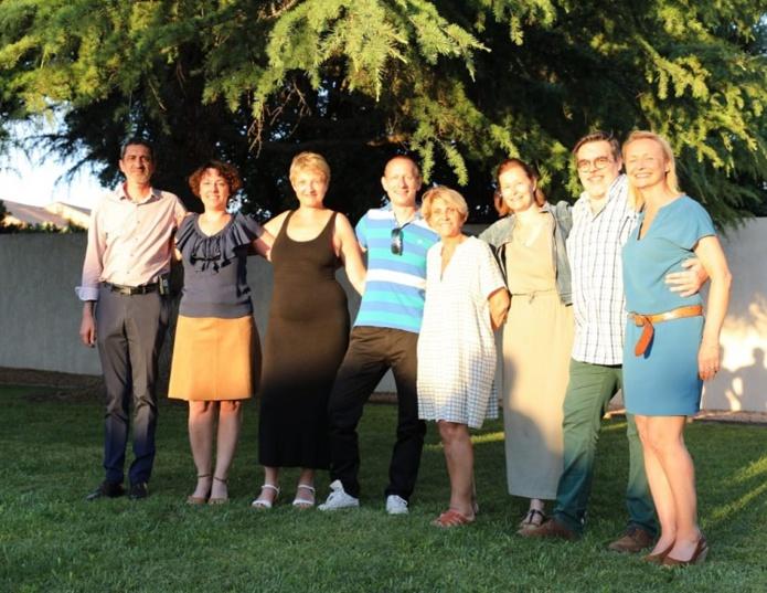 Adriana Minchella (au centre), entourée des administrateurs du Cediv - DR : Cediv Travel