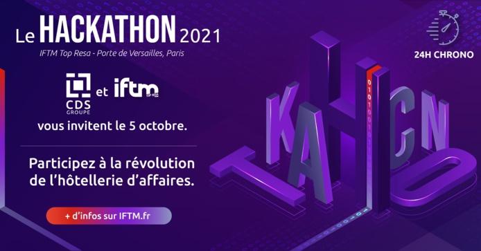 """Durant 24h ils devront travailler pour """"Créer la base hôtelière de référence du Business Travel"""" sur le Hackathon IFTM by CDS groupe - DR"""