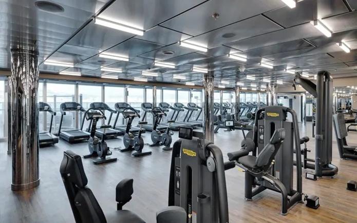 La salle de sport du MSC Seaside - Photo MSC