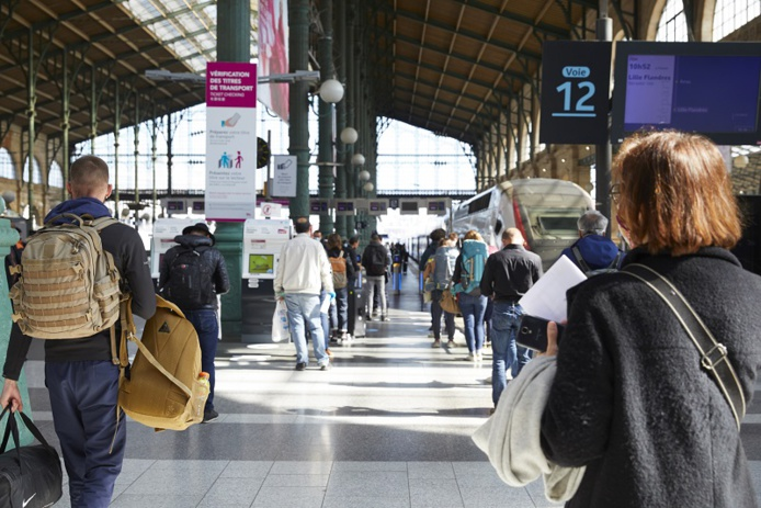 Les ventes pour TGV INOUI et INTERCITÉS sont ouvertes pour les voyages du 8 novembre au 11 décembre 2021 inclus - DR : Maxime Huriez, SNCF