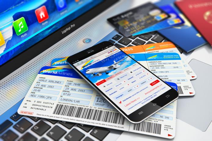"""62% des voyageurs français seraient susceptibles de réserver un voyage en avion cet été si une compagnie aérienne proposait une option """"réservez maintenant, payez lorsque vous voyagez"""" - DR : Depositphotos scanrail"""