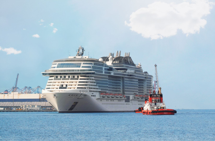 Le MSC Bellissima  effectuera 21 voyages en Mer Rouge au départ de Djeddah en Arabie Saoudite - DR