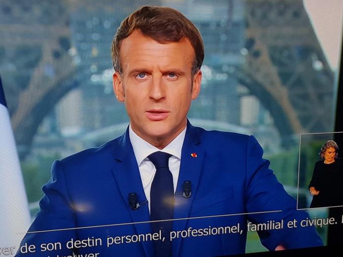 Emmanuel Macron a annoncé l'extension du pass sanitaire lors de son allocution du 12 juillet 2021 - DR