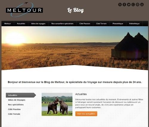 Chaque mois, le blog de Meltour mettra en ligne l'interview de l'un de ses correspondants locaux - Capture d'écran