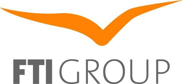 Le nouveau logo de FTI Group - DR