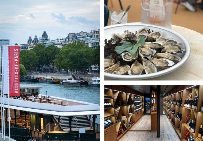 Le restaurant La Francette sur le nouveau ponton du Port de Suffren - DR