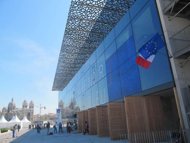 Le MuCEM, ouvert depuis juin 2013, a déjà attiré plus de 800 000 visiteurs au 25 août 2013 - DR : P.C.