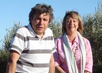 Jean-Pierre (à gauche) et Lilianne Melocco, Directeur et Directrice de Meltour - Photo DR