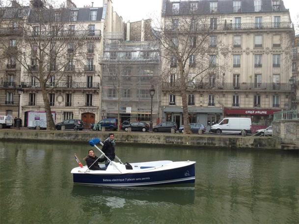 Nicolas Couderc et Olivier Doin ont pour objectif de faire découvrir les canaux aux Parisiens et aux touristes, car le potentiel est exceptionnel et encore méconnu - DR