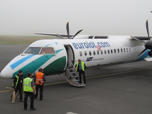Eurolot s'est posée à Paris-Beauvais mardi 3 septembre 2013 - Photo DR