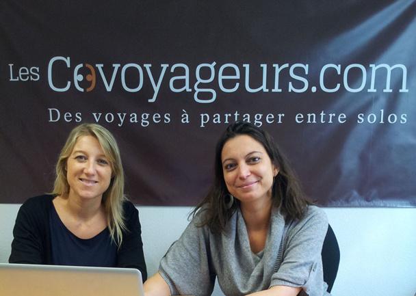Aude Parlebas et Sarah Lopez, toutes 2 passionnées de voyages, travaillent dans le secteur touristique depuis 10 ans - DR