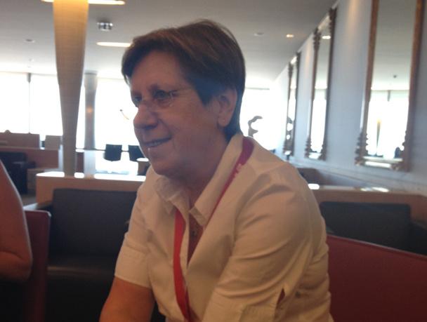 Olga Jacob est la directrice France, Belgique et Luxembourg d'American Airlines - DR
