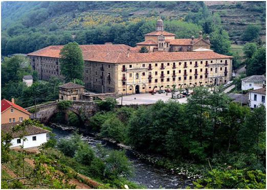 Le Parador de Corias  se trouve dans un impressionnant Monastère fondé en 1032, autrefois occupé par des moines bénédictins.