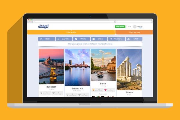 Domingo utilise Facebook Connect. L'appli passe par le compte Facebook de l'utilisateur. En passant par ce réseau social, Domingo espère ainsi créer une communauté de voyageurs et un espace d'échanges autour d'idées de voyages.  - DR