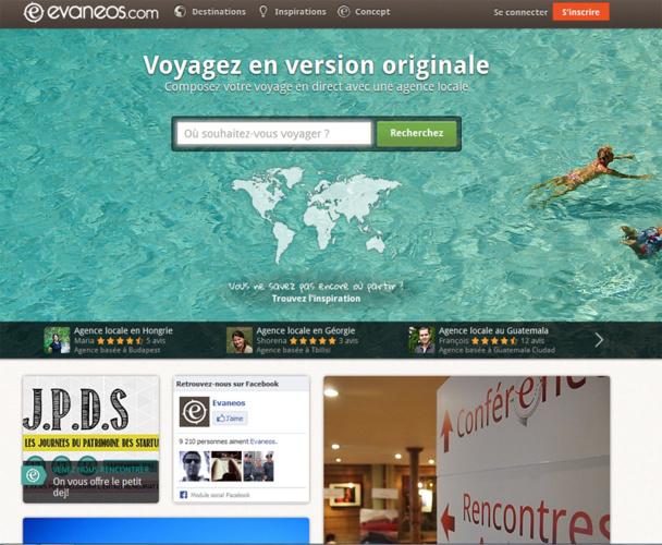 Le site Evaneos a fait voyager en 2012, 11 000 clients.  DR