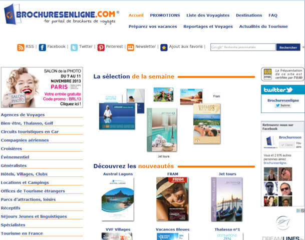"""Avec près de 130 marques et 260 ebrochures, Brochuresenligne.com est devenu un """"guichet unique"""" précieux pour les professionnels mais aussi pour le grand public."""