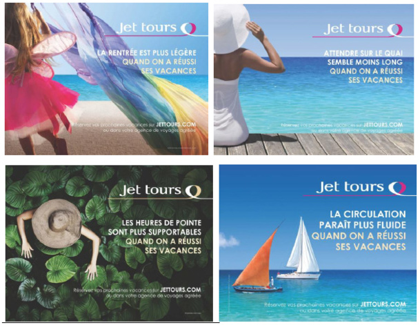 jet tours s 39 affiche dans 6 villes pour la rentr e. Black Bedroom Furniture Sets. Home Design Ideas