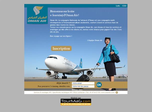 Oman Air : un e-learning pour les agents de voyages et de nombreux lots à gagner !