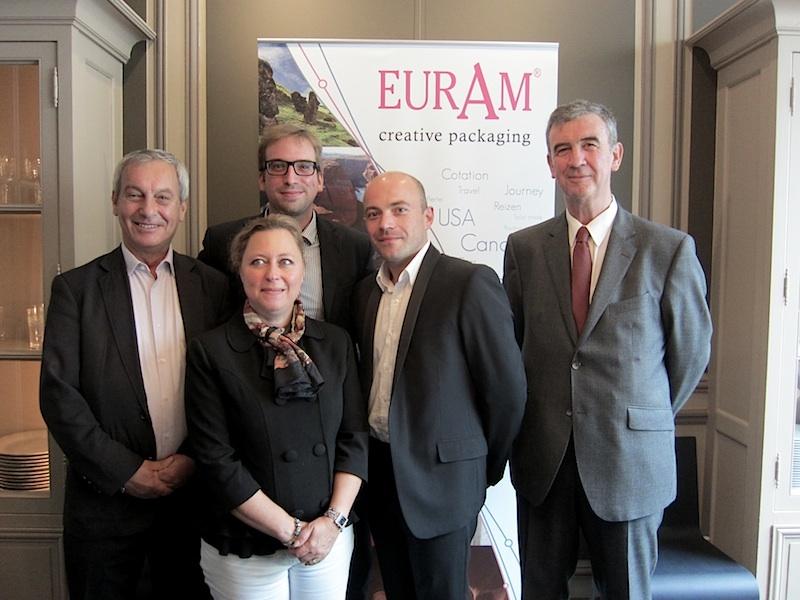 L'équipe d'EuRam espère que son nouveau logiciel de package dynamique lui permettra de s'imposer sur le marché européen. DR