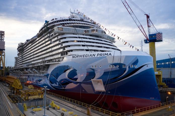 Le Norwegian Prima est le premier des six navires de la classe Prima