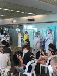 L'arrivée à l'aéroport de Phuket est elle aussi une expérience un peu troublante - Photo CH