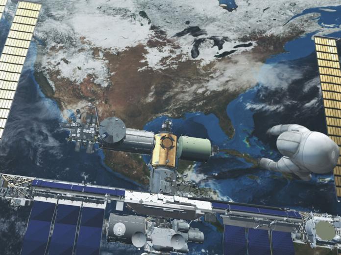 Le 29 juillet, la Station spatiale internationale s'est retrouvée hors contrôle alors qu'un nouveau module russe baptisé Nauka venait de s'y amarrer - Depositphotos.com goinyk