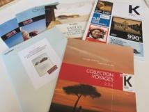 Les nouvelles brochures de Kuoni - DR : LAC