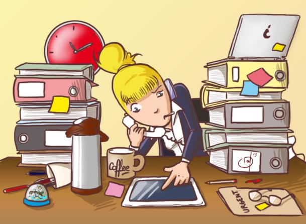 En ce moment, Léa n'arrive pas à trouver le temps de tout faire alors elle définit ses priorités : vivre sa life et faire du chiffre à l'agence. La Porte de Versailles, joker pour cette année - DR : Raf