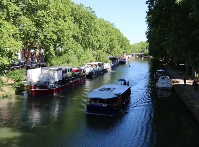 En croisière locale ou en navigation au long cours, la traversée de Toulouse sur l'eau est une expérience réellement originale - DR : J.-F.R.