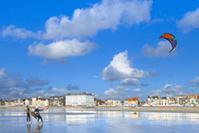 Kitesurf © E. Desaunois