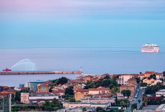 Le Costa Smeralda a fait son retour à Marseille le 4 juillet 2021 - DR : François Jonniaux
