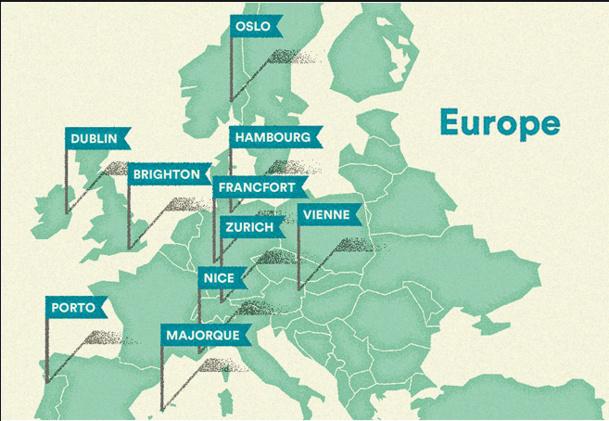 Pour les internautes de AirBnb, Zurich est la ville la plus accueillante en Europe - DR AirBnb