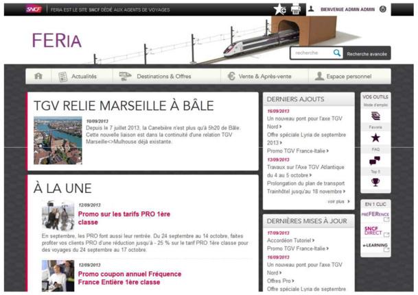 Le nouveau site FERia sera lancé la semaine prochaine. -DR