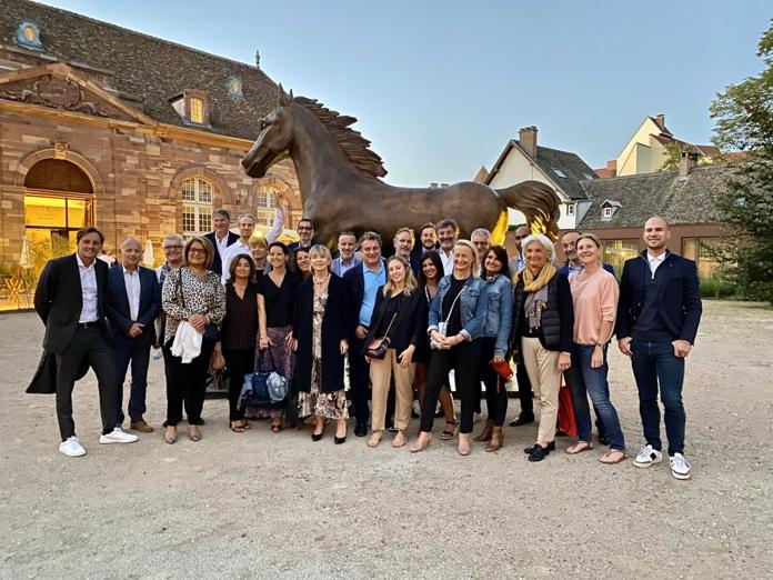 Les participants du 17ème Voyage des Patrons et des Dirigeants du Tourisme en Alsace - DR