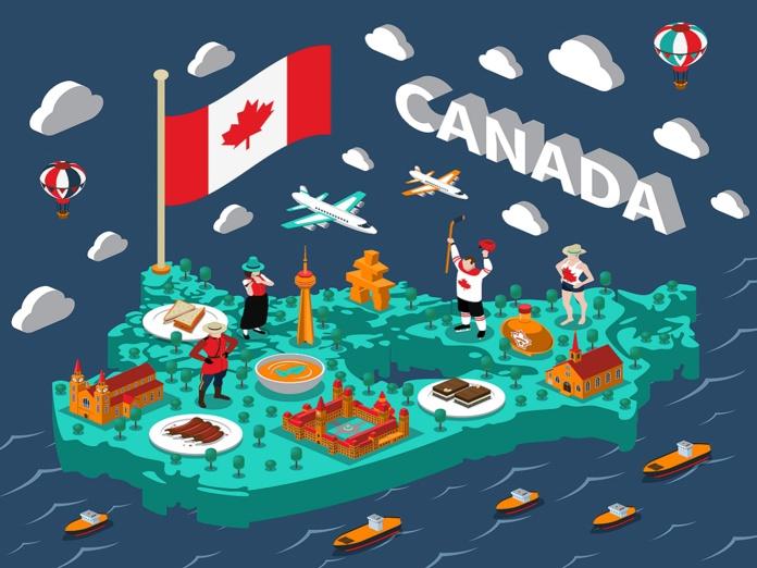 Le Canada a rouvert ses frontières aux voyageurs vaccinés, le mardi 7 septembre 2021 - Crédit photo : Depositphotos @macrovector
